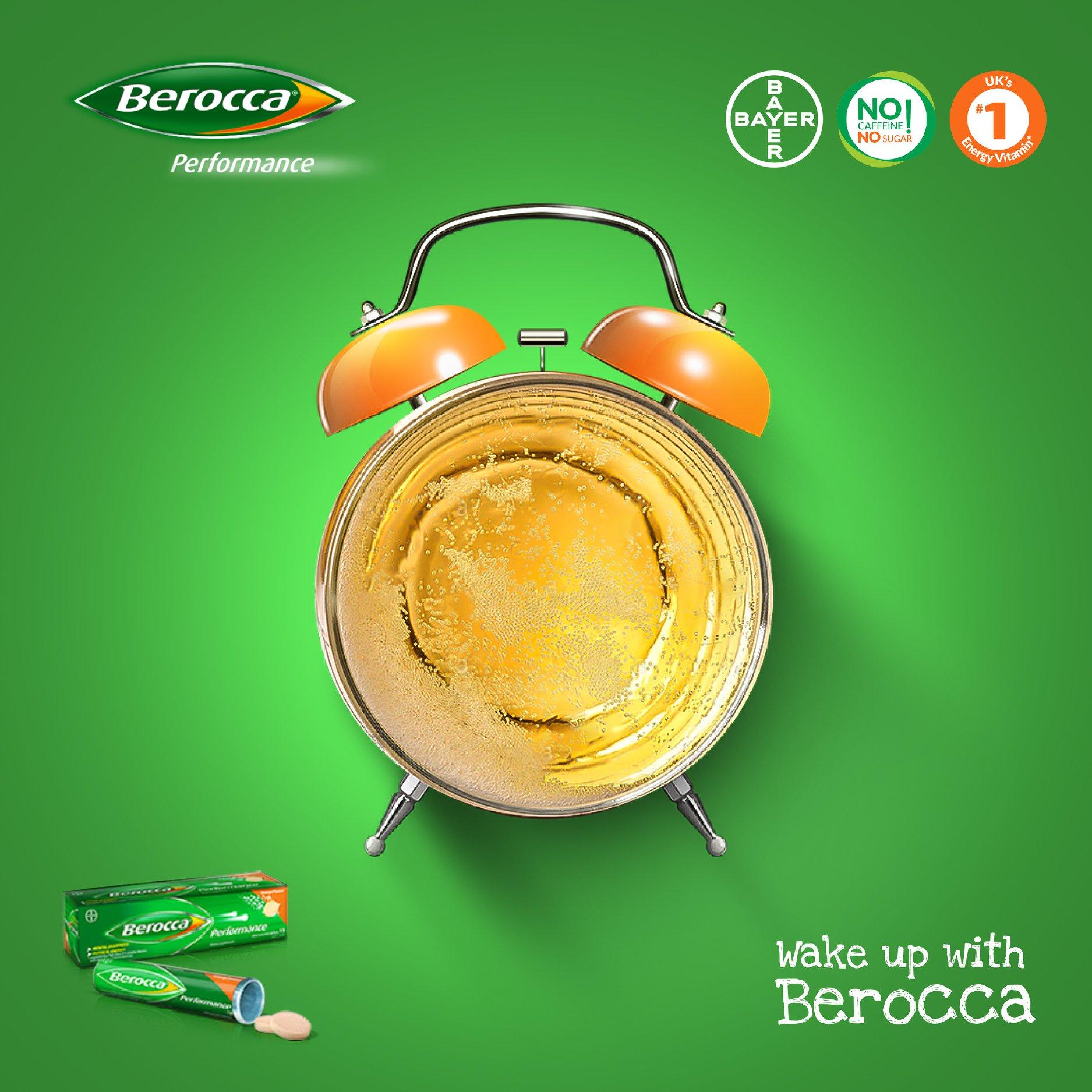 Social media creative for berocca by hemas
