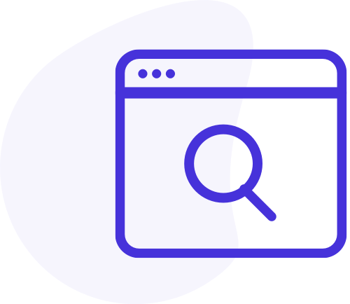 Search engine advertising icon