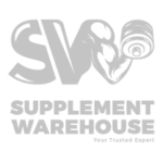Supplement Warehouse black and white logo