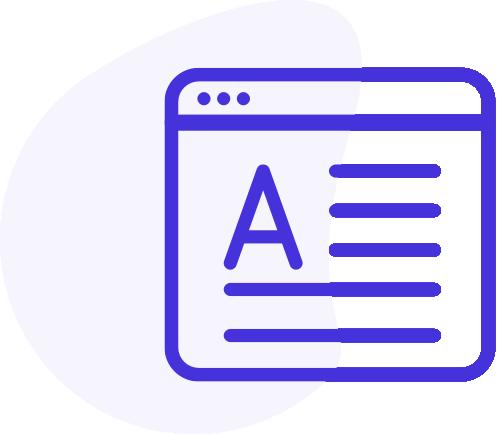 eCommerce blueprint icon